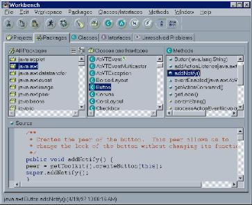 VisualAge for Java 1.0 - Let the Future Begin